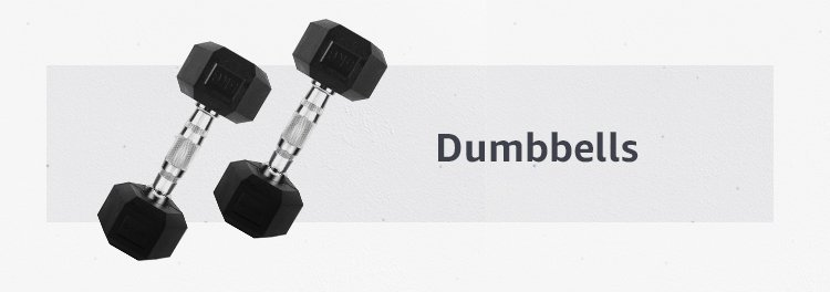 strenght training exercises with dumbbells