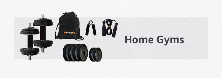 exercise equipments for home gym