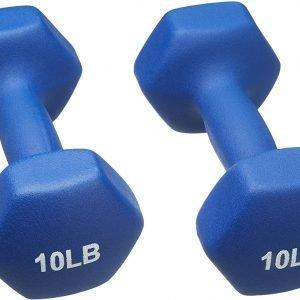 neoprene dumbbell hand weight amazon basics