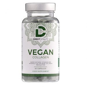 bottle of collagen lowering supplements by vegan collagen.jpg